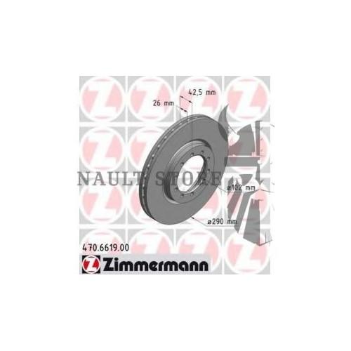 Zimmermann első féktárcsa