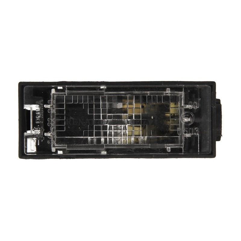 Renault alkatrészek, DEPO 551-2103N-UE rendszámtábla világítás